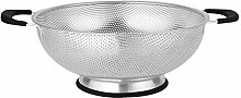 wendaby Kitchen Stainless Steel Fruit Basket With