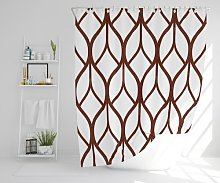 Wendelin Polyester Shower Curtain Set Ebern Designs
