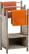 Wendy Freestanding Towel Rail Lily Manor Colour: