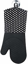 WENKO 2102167100 Oven gloves Silicone Black - 1