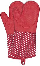 WENKO 2102168100 Oven gloves Silicone Red - 1