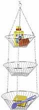 WENKO 2307100 Kitchen hanging basket Trio - 3