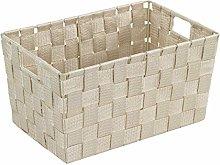 Wenko Adria 19882100 Bathroom Basket Small Beige