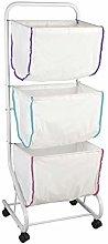 Wenko bin Escala-Laundry Basket, Powder-coated
