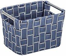 Wenko Fedra Bathroom Basket Small Polypropylene,