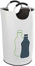 WENKO Jumbo Bottle Bin Laundry Hamper