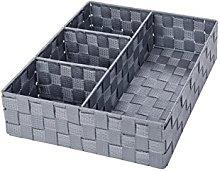 Wenko Set Basket 2Pcs. Grey