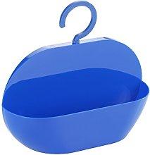 WENKO Shower caddy Cocktail Blue-storage basket,