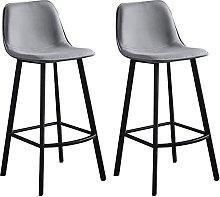 WENLI Adjustable Barstools Modern Comfy High