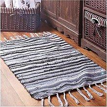 Wensong Hand-woven Tassel Carpet Northern Europe