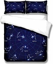 WENYA 3D Universe Earth Dreamy Galaxy Starry Sky