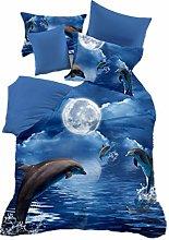 WENYA Duvet Cover 3D Animal Bedding set Horse