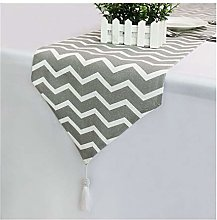 WENYOG Table Runners Cotton Linen Table Runners