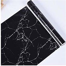 WENYOG Wall Paper Waterproof Pvc Imitation Black