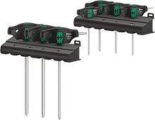 Wera 467/7 set of screwdrivers, Torx T-handle,