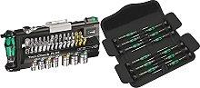 Wera Tool-Check Plus Mini Bit Ratchet, Socket,