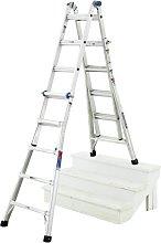 Werner 4 x 5 Telescopic Combi Ladder