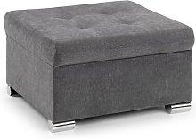Weronika Grey Footstool Premier Sofa Wholesalers