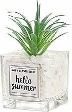 wersdf Artificial Pot Plants Fake Plants Desk