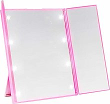 wersdf Cosmetic Mirror LED Makeup Mirror Light Up