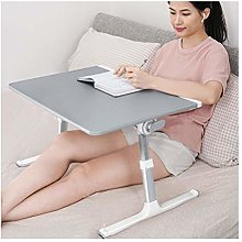 WERTYU Mobile Lap Table, Portable Laptop Stand