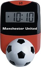 Wesco Manchester United Rocking Desk Clock