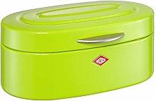 Wesco Single Elly Bread Bin, Steel, Lime Green, 32