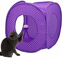 WESEEDOO Cat Tunnels Collapsible Cat Tunnels Tent