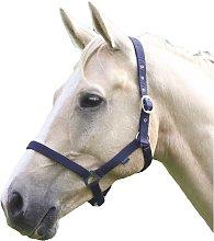 Wessex Horse Headcollar (Cob) (Navy)