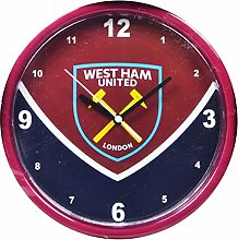 West Ham United FC Official Swoop Wall Clock (One