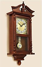 Westbury Radio Controlled Pendulum Clock Mahogany