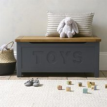 Westcote Inky Blue Toy Box