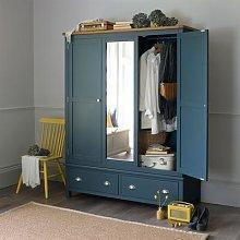 Westcote Inky Blue Triple Wardrobe
