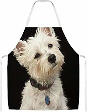 Westie West Highland Terrier With Collar Home