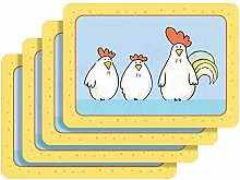 Westmark 01052510650 Chicken Sitting Placemats