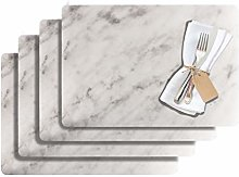 Westmark 1029010150 Marmor 4 Place Mats, Plastic,