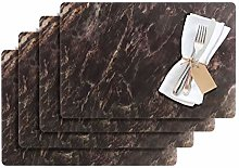 Westmark 1029019150 Marmor 4 Place Mats, Plastic,