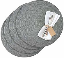 Westmark 1211044150 Circle 4 Place Mats, Plastic,