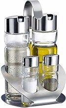 Westmark 4Piece Cruet for Salt, Pepper, Oil and