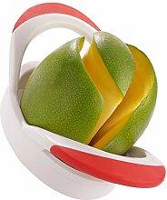 Westmark Mango Slicer, Stainless Steel, White/Red,