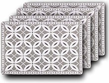 Westmark Set of 4 Placemats 43.5 x 28.5 cm