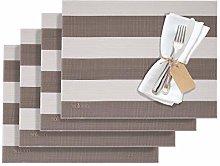 Westmark Stripes 01210110150 Table Mats Vinyl