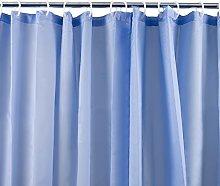 Westward Ho! Plain Textile Shower Curtain (Light
