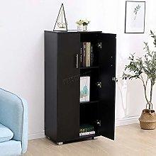 WestWood 3 Shelf Office Cupboard Storage with Lock