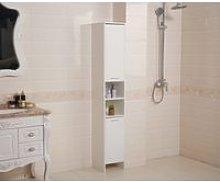 WestWood Bathroom Cabinet Tall Shelving BC10 White