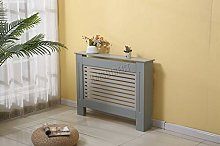 WestWood Grey Painted Radiator Cover Wall Cabinet