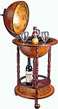 WestWood Vintage Globe Shaped Mini Bar Drinks