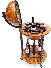WestWood Vintage Globe Shaped Mini Bar | Drinks