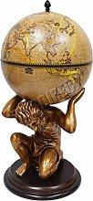 Westwood Vintage Globe Shaped MiniBar Atlas