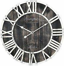 Westzytturm Extra Large Wooden Wall Clock Roman